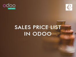 Sales Price List in Odoo