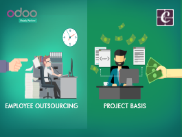 What makes Employee Outsourcing different from Project Basis?