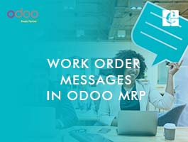 Work Order Messages in Odoo MRP