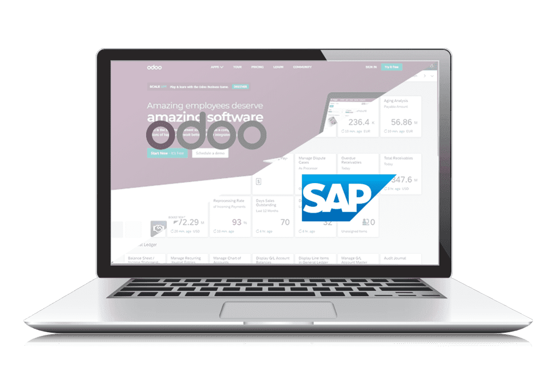odoo vs sap