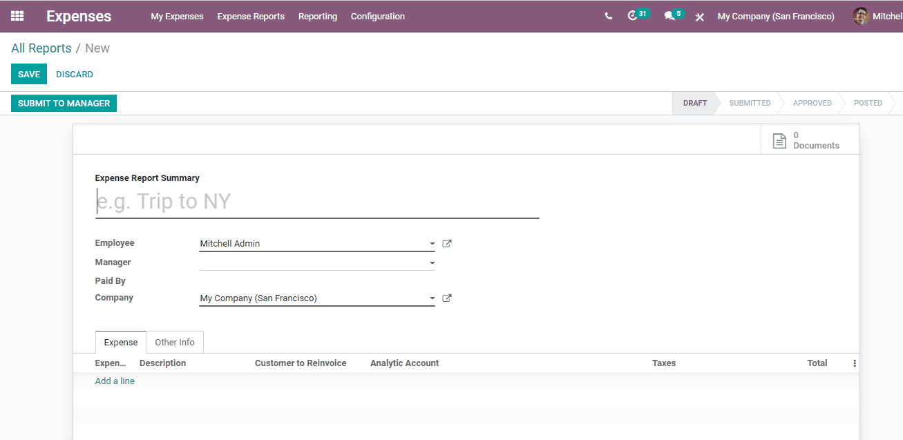 odoo-expense-management