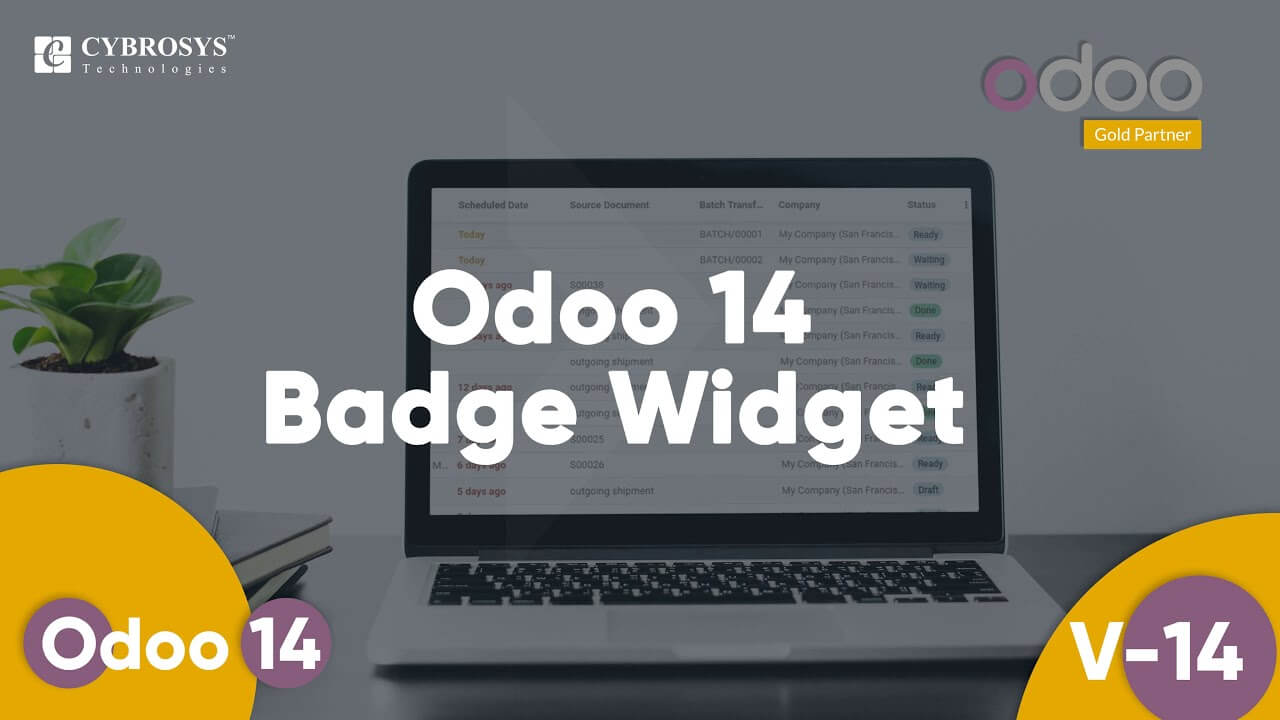 Odoo 14 Badge Widget