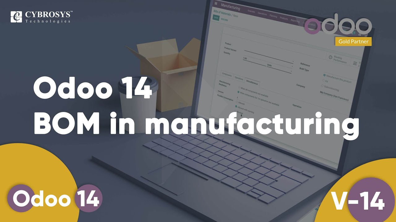 Odoo 14 BOM in Manufacturing