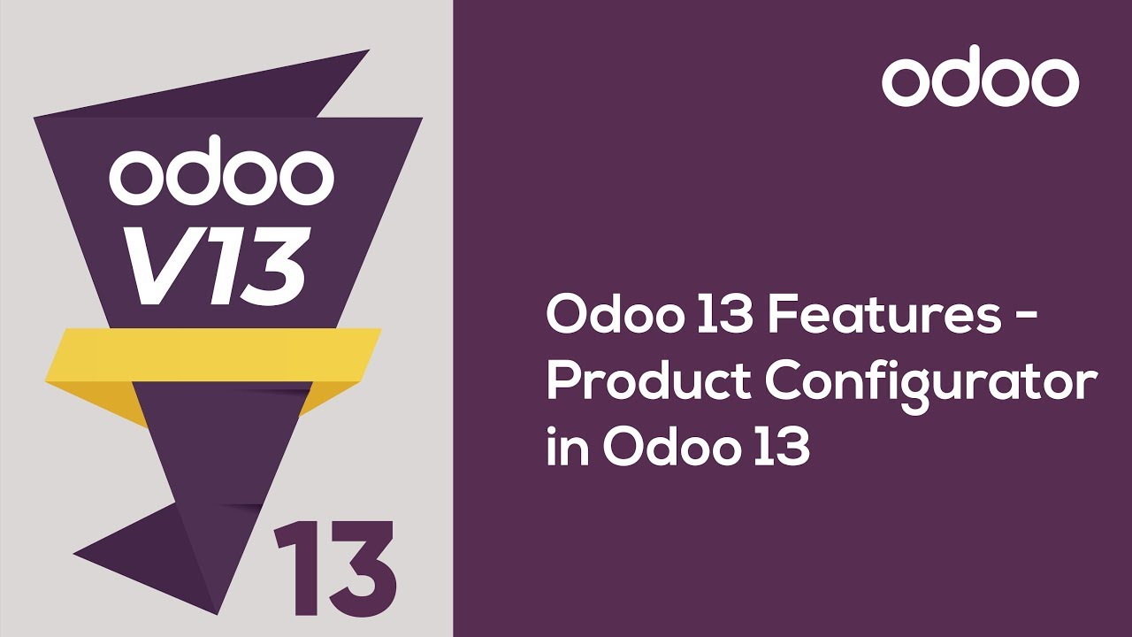 Product Configurator in Odoo 13